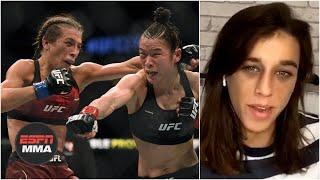 Joanna Jedrzejczyk looks back at Zhang Weili fight, wants Colby Covington gone from ATT | ESPN MMA