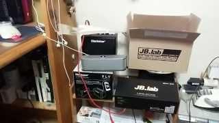 JB.Lab HRS-20 과 노벨뷰 NS600 음량비교
