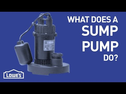 What Does A Sump Pump Do? | DIY Basics