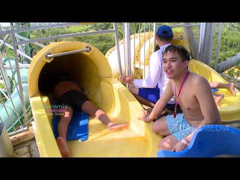 BROWNIS - Waduh Anwar Pingsan Setelah Naik Racer Water Slide  (21/7/19) Part 2