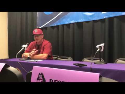 Mark Kingston  talk after advancing to Super Regionals