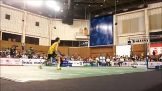 highlight lee chong wei vs taufik hidayat 2011 charity exhibition game