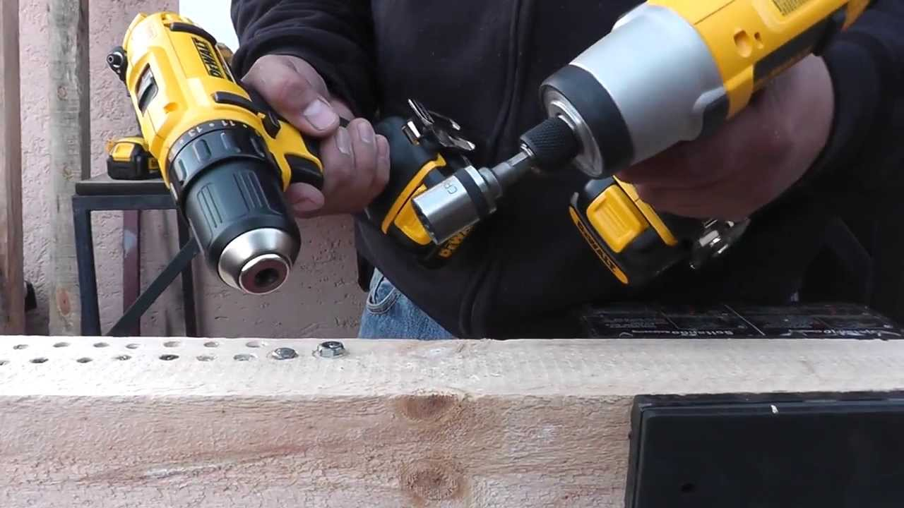 Taladro atornillador vs atornillador de impacto youtube - Taladro bateria barato ...