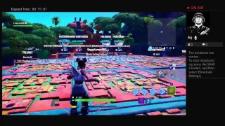 Playing fortnite and geting WbS and 1v1