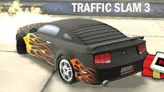 Juego de Autos 11: Un Auto en Llamas en Traffic Slam 3