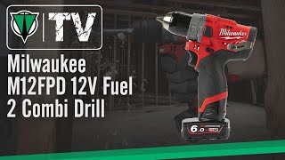 Milwaukee M12FPD 12V Fuel 2 Combi Drill