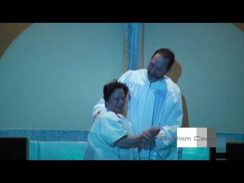 Christian Baptism Ceremony  Fountain Hills First Baptist Church