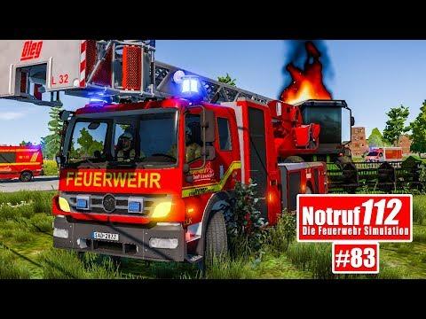 NOTRUF 112 #83: Der MÄHDRESCHER brennt I Feuerwehr-Simulation