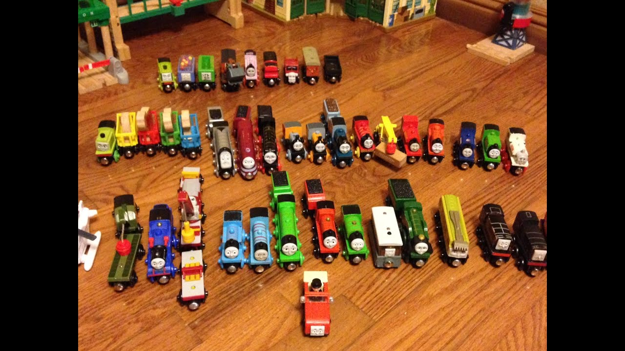 Benjamins Thomas And Friends Wooden Railway Collection Video