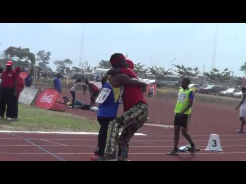 2014 Nigeria University Games OAU Ife  4 by 100m final