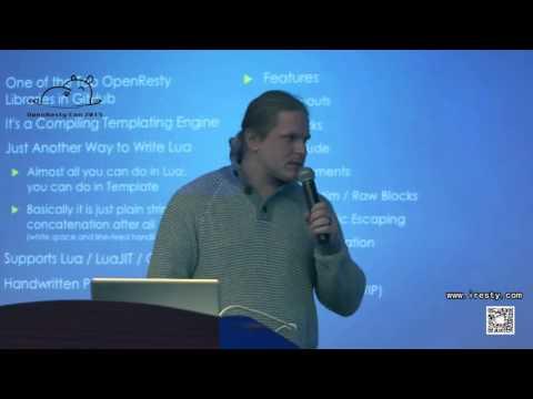 Developing OpenResty Framework