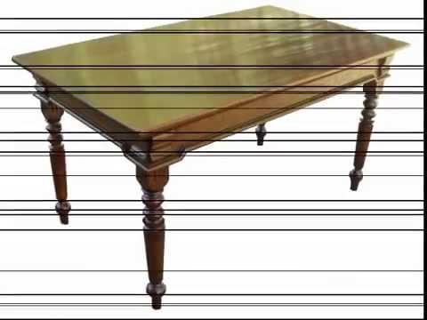 Tavoli antichi d 39 epoca tavolo da cucina in rovere restaurato youtube - Orologi d epoca da tavolo ...