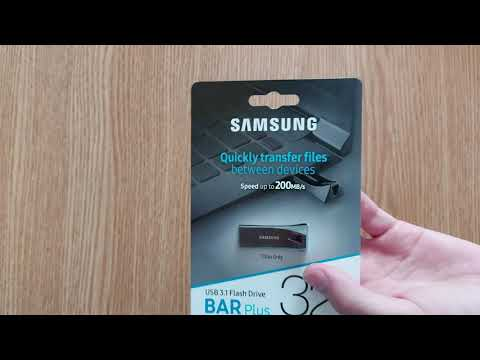 Samsung Bar Plus 32GB USB 3.1 Silver (MUF-32BE3/APC)