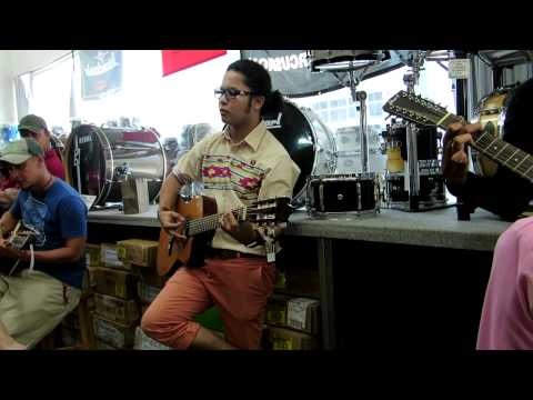 Hafiz At Swee Lee Guitar Shop, Bras Basah Complex, Singapore (Part2)