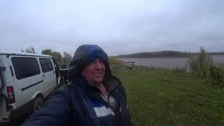 Рыбацкие похождения на Иртыше в Сентябре трудовая рыбалка