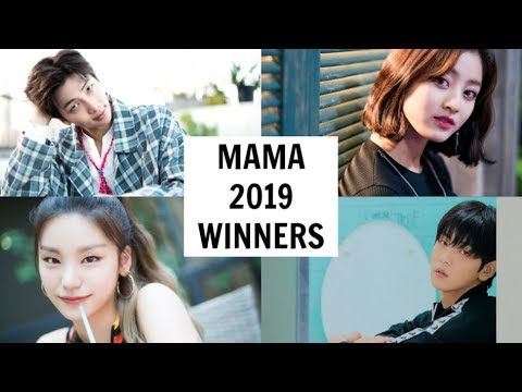 Mama Awards 2019 Winners Youtube