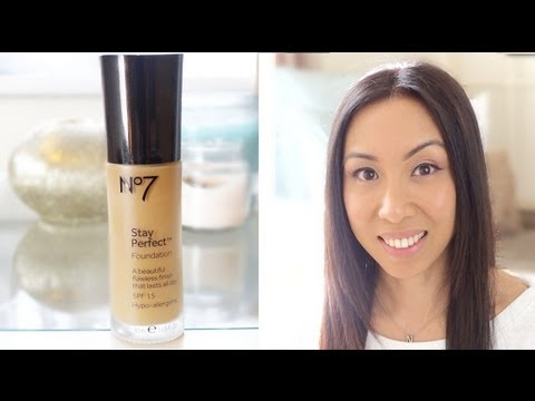 How to apply no7 foundation