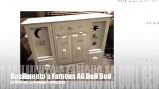 Jennaag Basilmento's Famous Ag Doll Bed