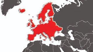 Avrupa Kıtası 'TEK BİR ÜLKE' Olsaydı? Video