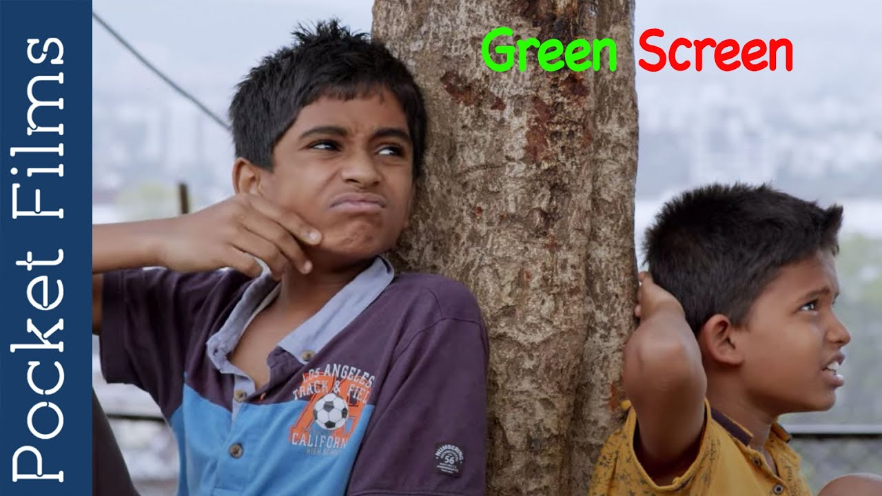 Green Screen - Hindi children short film | A tale of a young kid's learning about green screen