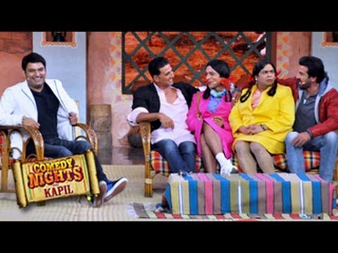 Comedy Nights with Kapil 13th October 2013 Akshay Kumar BOSS Special Travel Video