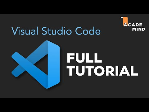 Visual Studio Code Tutorial For Beginners - Introduction