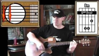 Love Will Tear Us Apart Joy Division Acoustic Guitar Lesson Easy Ish
