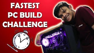 Fastest PC Building Challenge - Episode 1 Ft.Tech Frame [HINDI]