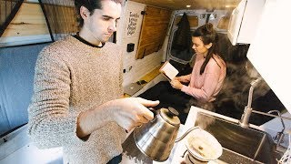 Van Life: Day in the Life | VICE Feature + Office Tour | Eamon & Bec