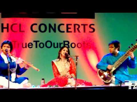 HCL Concerts Kaushiki Chakrabarty Purbayan Rakesh Chaurasia Taufiq Qureshi Satyajit Talwalkar