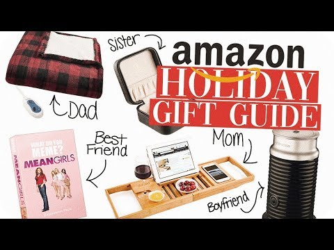 Amazon Gift Guide 2018! Last Minute Gift Ideas!