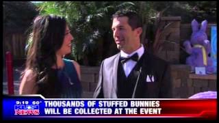 THE BUNNY BALL EVENT PROMO ON GOOD MORNING SAN DIEGO KUSI NEWS WITH LESLIE LOPEZ