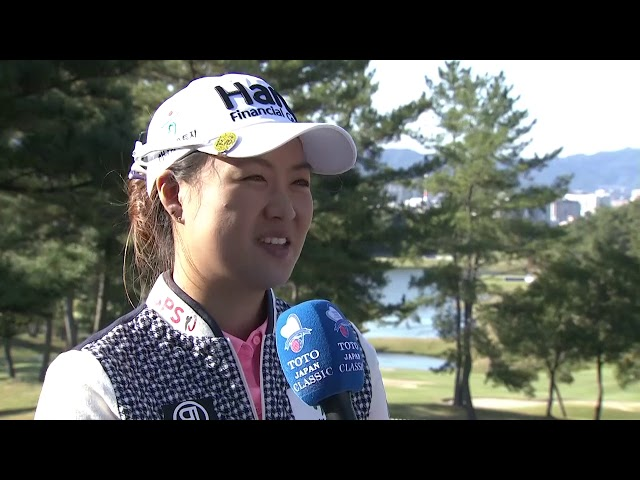 Minjee Lee Talks First Round 68 at the 2019 TOTO Japan Classic