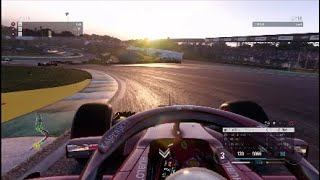 F1 2018 | Rare footage of clean ranked racing