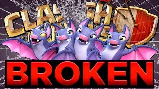 THE BAT SPELL HAS BROKEN CLASH OF CLANS | INSANE 3 STARS, OUTRAGEOUS SWAG