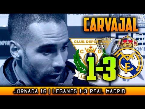 DANI CARVAJAL post Leganés 1-3 Real Madrid (21/02/2018) | LIGA JORNADA 16