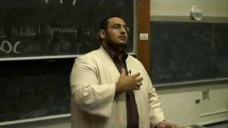 FOSIS Talk: Sheikh Yahya Ibrahim- Prophet Joseph 5/5