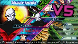 Dragon Ball Shin Budokai 5 V5 mod download