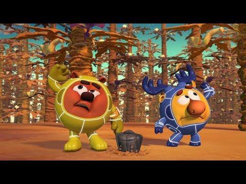 Пин-код - Тайна сгоревшей планеты  [HD] (Смешарики - познавательные мультики для детей)