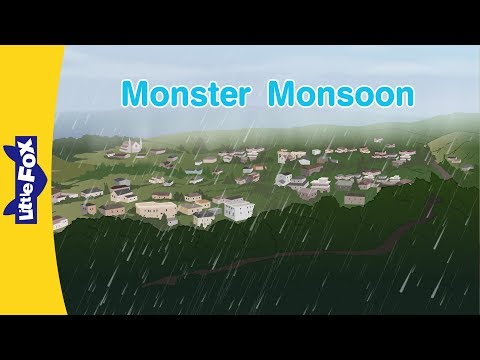 Monster Monsoon | Science | Nature | Little Fox | Animated Stories for Kids