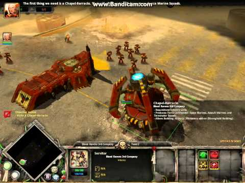 Warhammer 40,000 Dawn of War Gameplay-A planet falls-part 1 (magyar)