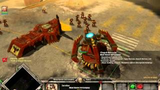 Warhammer 40,000 Dawn of War Gameplay-A planet falls-part 1 (magyar)