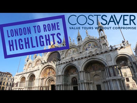 Costsaver London to Rome Highlights 30 Jul - 6 Aug 2017