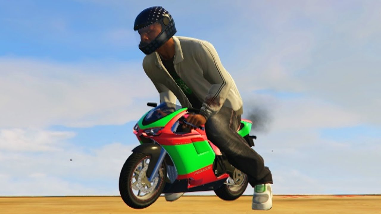Increible Mini Motos Guapisimas Gta V Pc Mods Youtube