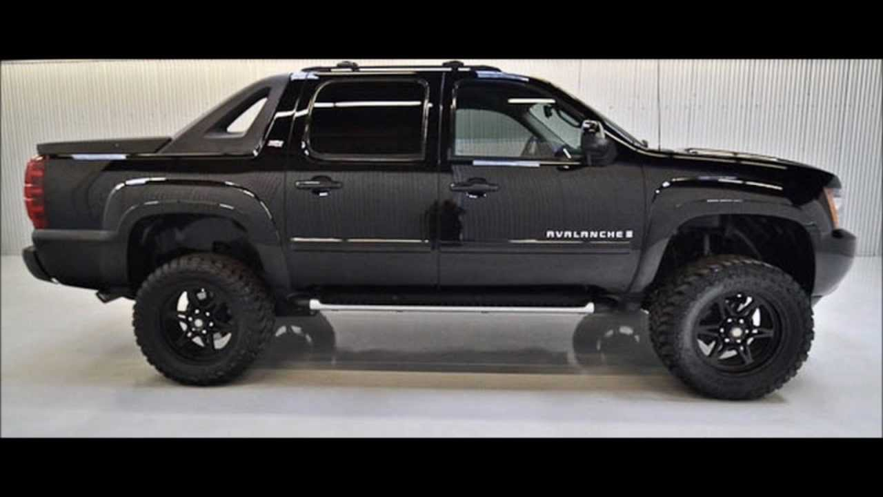 2009 chevy avalanche lifted truck for sale youtube. Black Bedroom Furniture Sets. Home Design Ideas
