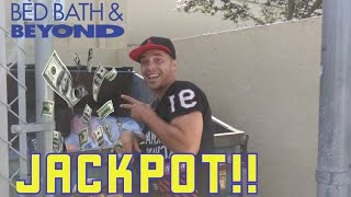 DUMPSTER DIVING BED BATH & BEYOND: 2 DAYS 1 DUMPSTER & A TON OF FREE STUFF!!