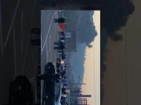 Weirton WV Steel Mill implosion demolition. Basic Oxygen Plant. 3/9/19