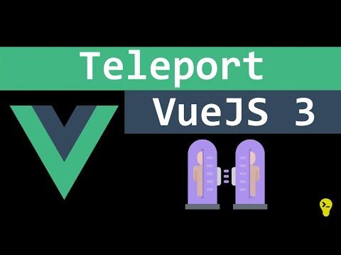 Teleport Vue 3, como funciona e como utilizar