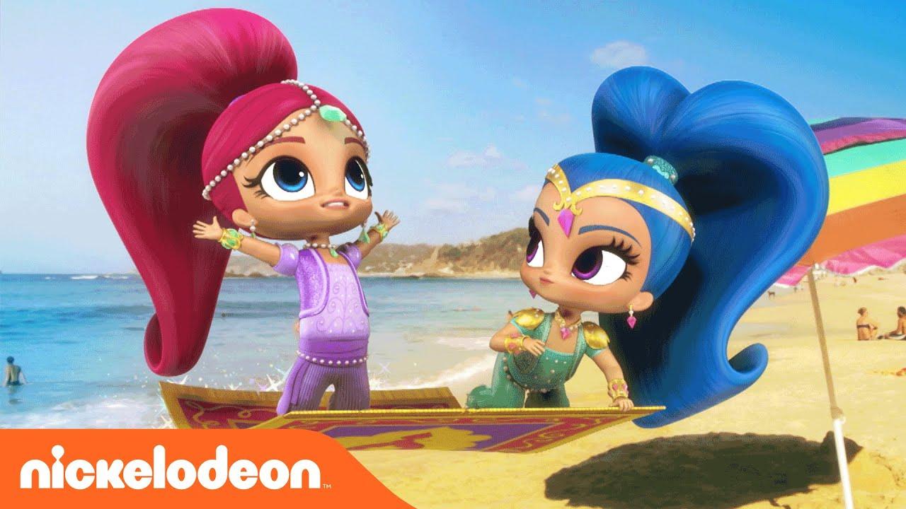 Shimmer and Shine   Summer   Music Video   Nickelodeon