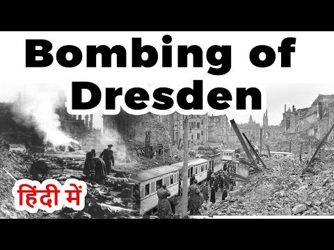 Bombing of Dresden in World War II, Allied bombing raids on Germany city Florence on the Elbe